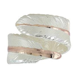 Montana Silversmiths Feather Wrap Ring