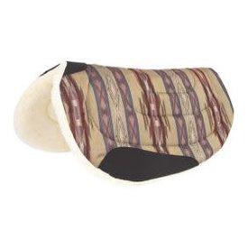 Mustang Round Barrel Herculon Fleece Pad