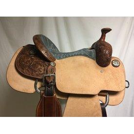 Martin Saddlery Grey Suede Seat Roper
