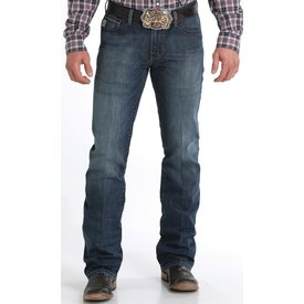 Cinch Men's Ian Dark Stonewash Jeans C4