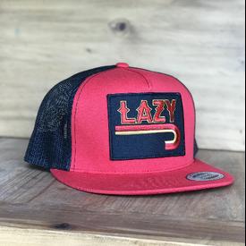 Lazy J Ranch Wear Fire J Patch Cap