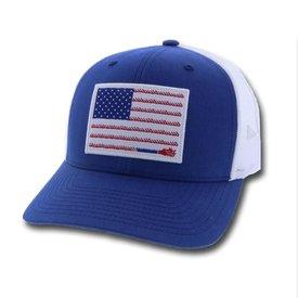 Hooey Men's Blue Liberty Roper Cap