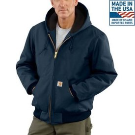 Carhartt Men's Carhartt Quilted Flannel Lined Duck Active Jacket J140-DNY