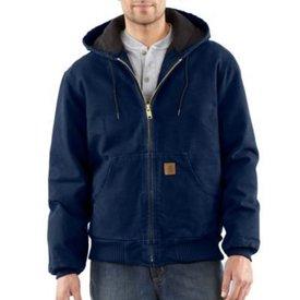 Carhartt Men's Carhartt Quilted Flannel Line Sandstone Active Jacket J130-MDT LARGE