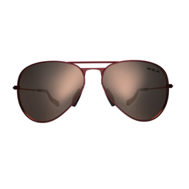 BEX Wesley Burgundy/ Gold Sunglasses