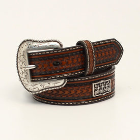 Nocona Belt Co. Kids Rectangular 3 Cross Concho Belt