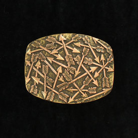 Nocona Belt Co. Bronze Arrows Buckle