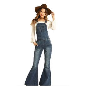 Panhandle Bell Bottom Overalls