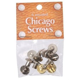 JT International Assorted Chicago Screws Pack