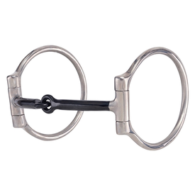 American Heritage Equine Sweet Iron Thin Mouth Snaffle Bit