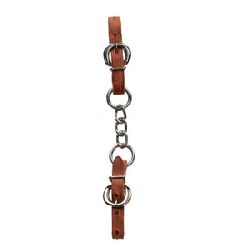 Berlin Custom Leather Harness Single Chain Curb Strap