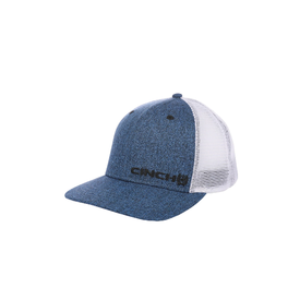 Cinch Trucker Heather Blue/White Cap
