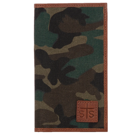 Stran Smith Camo Long Bifold