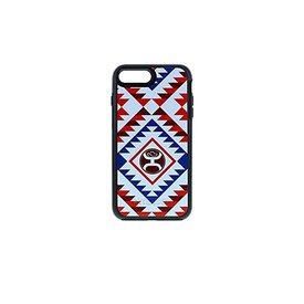 Hooey Otter Box Red and Blue Tribal Phone Case