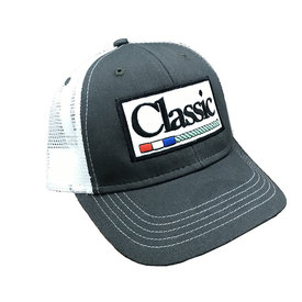 Classic Ropes Charcoal and White Kids Cap