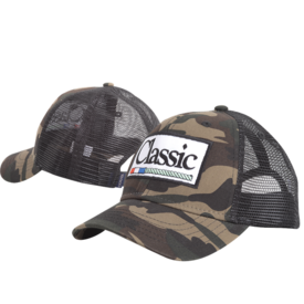 Classic Ropes Camo Kids Cap with Patch