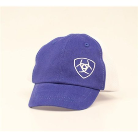 Ariat Blue and White Infant Cap