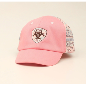 Ariat Pink Aztec Infant Cap