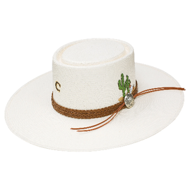 Charlie 1 Horse Dry Spell Straw Hat