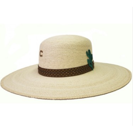 Charlie 1 Horse Cactus Canyon Palm Leaf Hat
