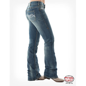 Cowgirl Tuff Don't Fence Me In Ladies Jeans
