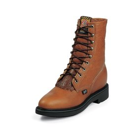 Justin Copper Caprice Lace Up Boot