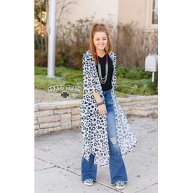 Crazy Train Leopard Love Duster