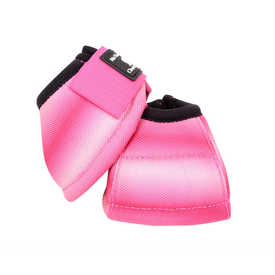 Classic Equine Dy-No Turn Pink Fusion Bell Boots C3