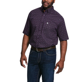 Ariat Men's Redland Classic Fit Button Down Shirt Big and Tall