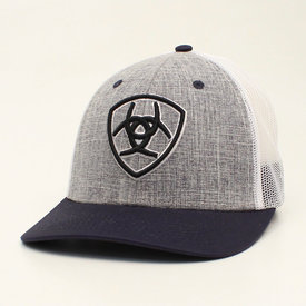 M&F Western Men's Charcoal and Navy Cap