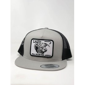 Lazy J Ranch Wear Silver and Black Cattle Headquarter Cap