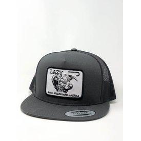 Lazy J Ranch Wear Gray Cattle Headquarters Cap