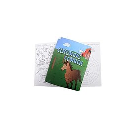Classic Equine Coloring Corral Coloring Book