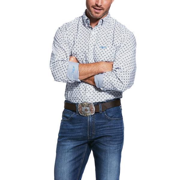 Ariat Men's Relentless Spartan Stretch Classic Fit Button Down Shirt