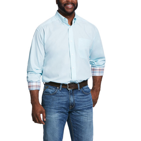 Men's Wrinke Free Classic Fit Button Down Shirt