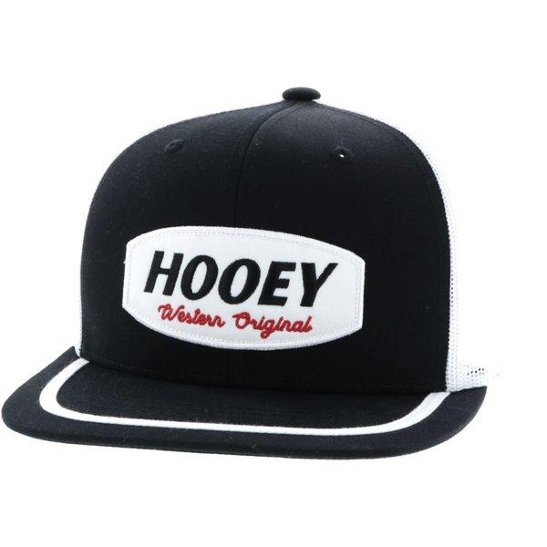 Hooey Men's Hooey Black and White Galveston Cap
