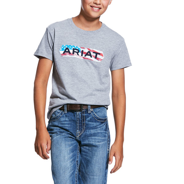 Ariat Boy's Flag Tone T-Shirt