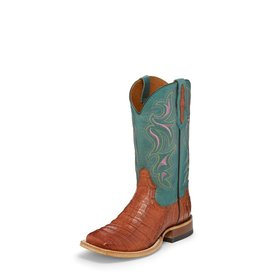 Tony Lama Women's Leighton Brandy Caiman Boots