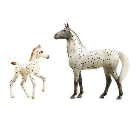 Breyer Horses Spotted Wonders Mare & Foal