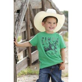 Cinch Boy's Green Bullrider T-Shirt