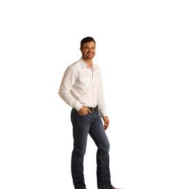 Rock & Roll Denim Men's Reflex Revolver Slim Straight Jean