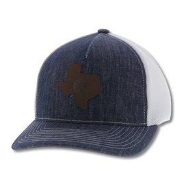 Hooey Men's Tejas Denim Trucker Cap