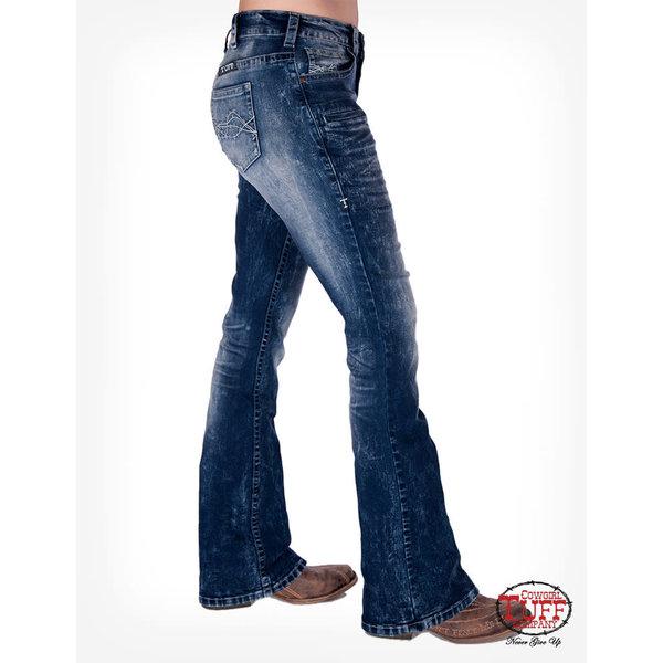 Cowgirl Tuff Women's Tornado Bootcut Jean