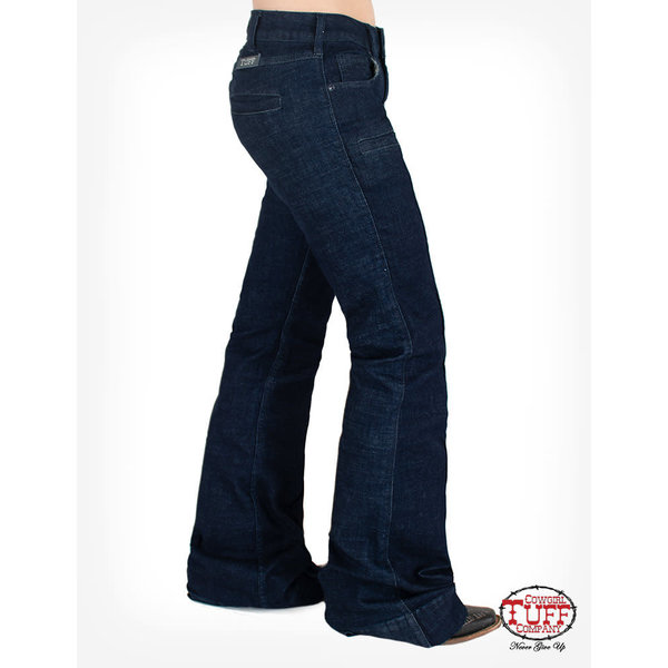 Cowgirl Tuff Breathe Deep Flowy Trouser Jean
