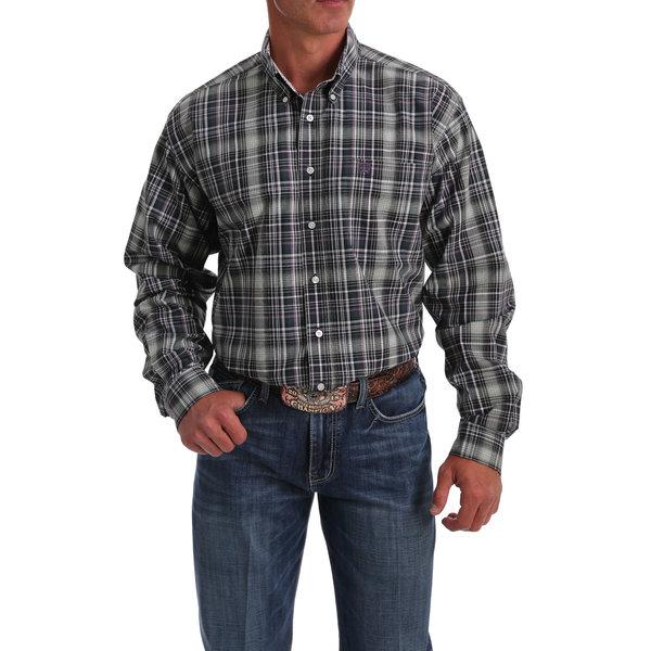Cinch Men's Plaid Button Down Shirt