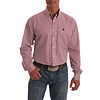 Men's Striped Button Down Shirt