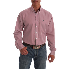 Cinch Men's Striped Button Down Shirt