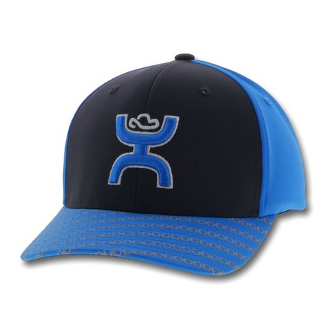 Youth Black and Blue Solo III Cap
