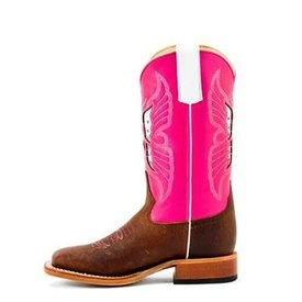 Macie Bean Kids Pink Butterfly Boot