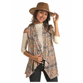 Rock and Roll Cowgirl Women's Stucco Sweater Vest